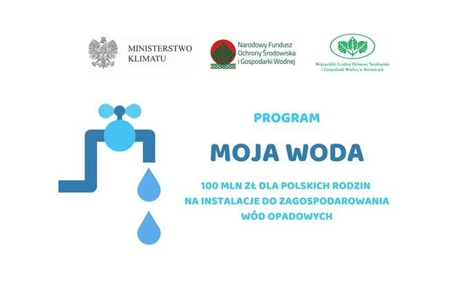 """Program """"Moja Woda"""" od lipca"""